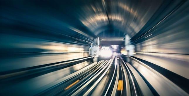 Höghastighetsjärnväg
