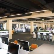 Nu visar det sig att man i Sidney, Australien, bygger ett helt kontorskomplex i samma material.