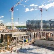 Rekordmånga anställda nom byggbranschen