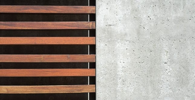 Trä - betong