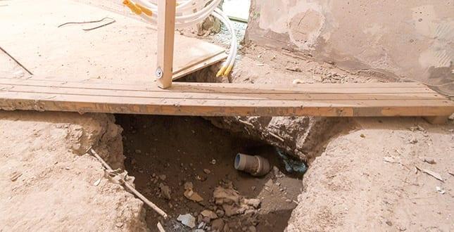 Brf Ritaren 22 - badrum under stambyte