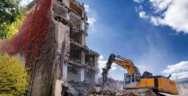 Återvinning av byggavfall
