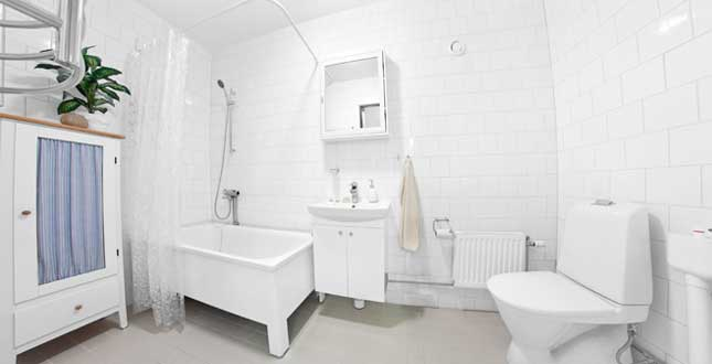 Brf Ritaren - badrum efter stambyte