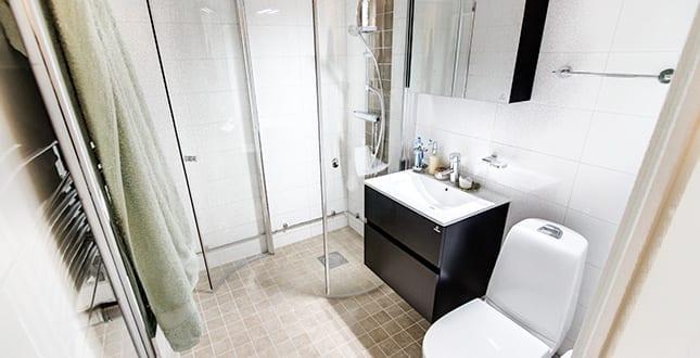 Brf Snickaren 2 - färdigt badrum