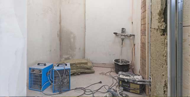 Brf Kanan 3 - utrivet badrum