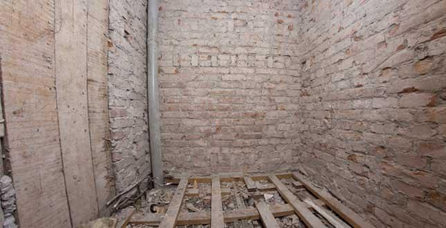 Brf Kikaren 11 - Badrum under stambyte