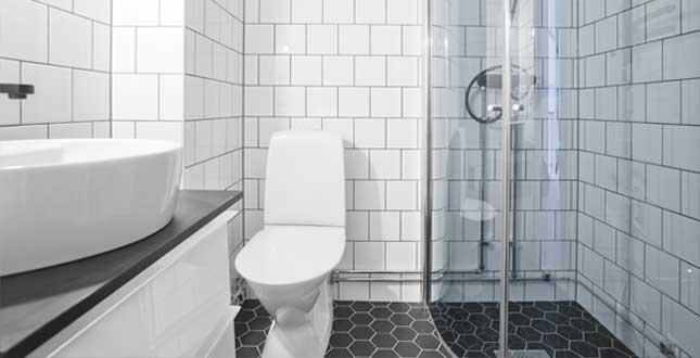 Brf Kikaren 11 - badrum efter stambyte