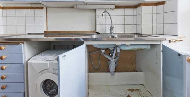 Brf Kikaren 11 - kök före stambytet