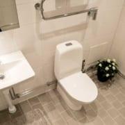 Brf Höstbuketten - badrum efter utfört stambyte
