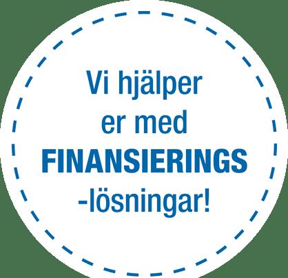 Vi hjälper er med finansieringslösningar!