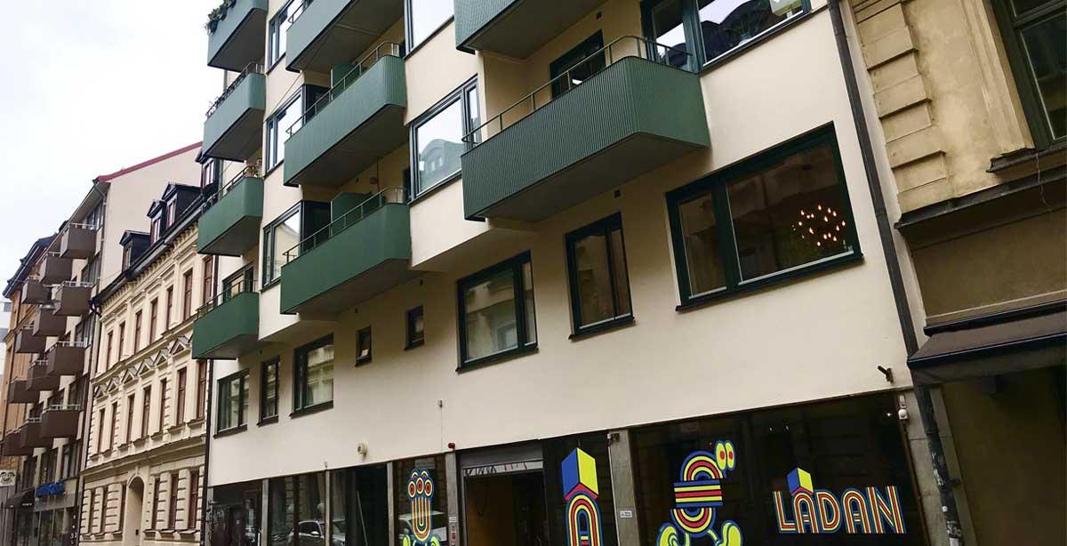 Brf Luntmakargatan 63 - efter utfört balkongbyte